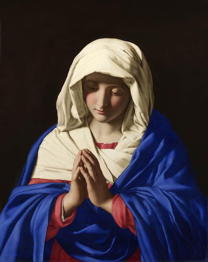 Sassoferrato - Virgin Mary - National Gallery, London