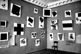 The Last Futurist Exhibition of Painting 0.10 by Kazimir Malevich