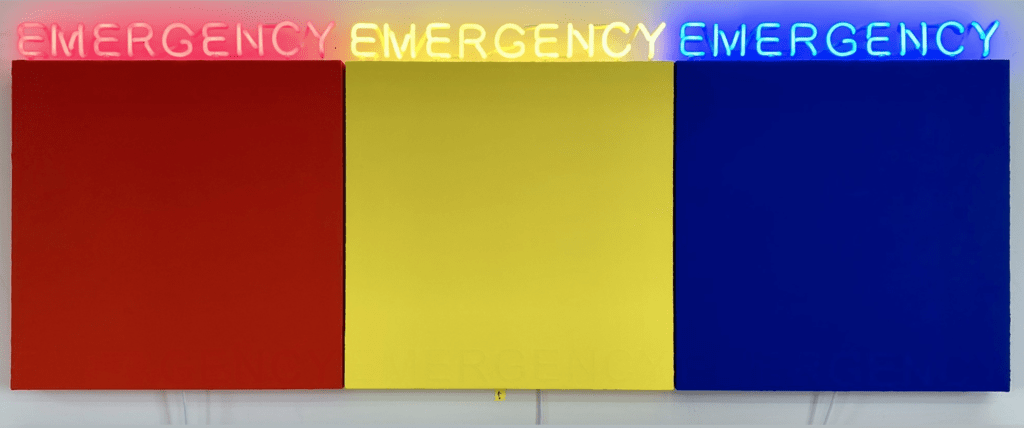 Deborah Kass - Emergency - 2019