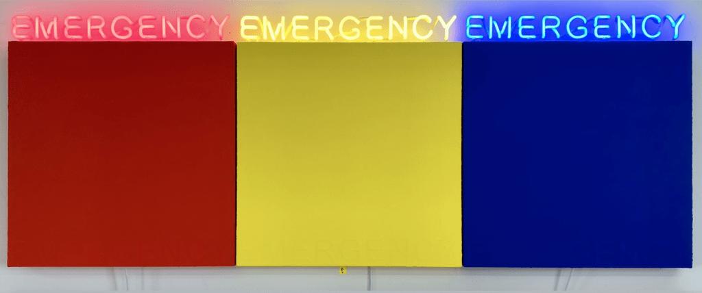 Deborah Kass - Emergency - 2019