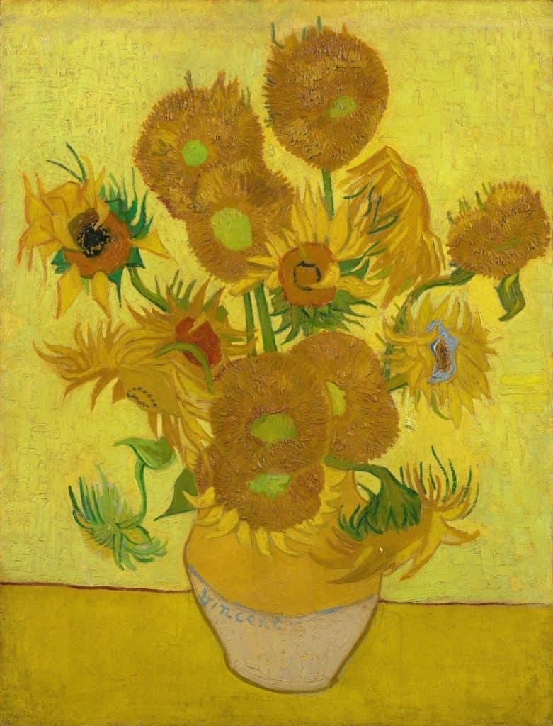 Vincent Van Gogh - Sunflowers - 1888