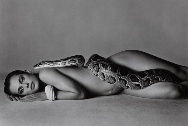 Richard Avedon - Nastassja Kinski and the Serpent (1981)