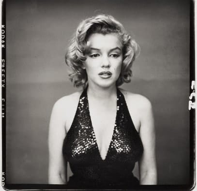 Richard Avedon - Marilyn Monroe, actress - 1957