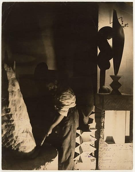 Constantin Brancusi's Self-Portrait in Studio, 1923