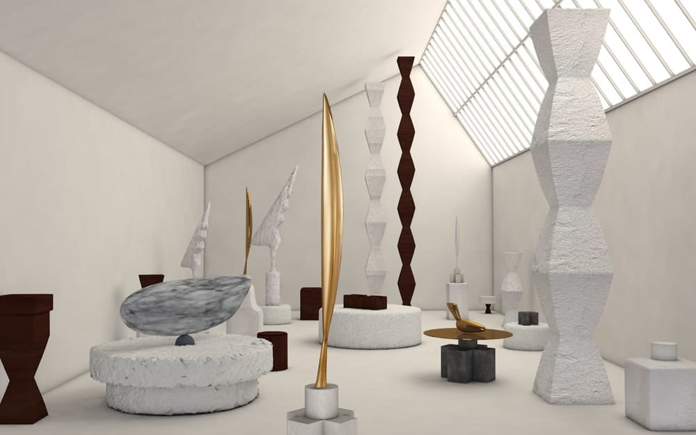 Renzo Piano's 1997 reconstruction of Constantin Brancusi's studio