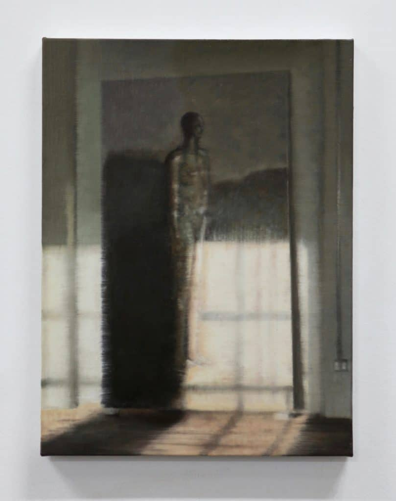 Adam Gordon - Untitled; Oil on canvas -  2020