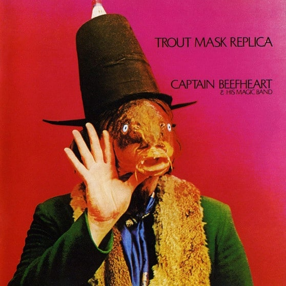Trout Mask Replica album cover - Captain Beefheart