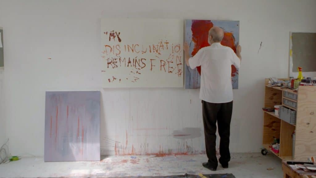 Walter Swennen In His Studio - The Crimson Tongue, A Film by Violaine de Villers (2017)