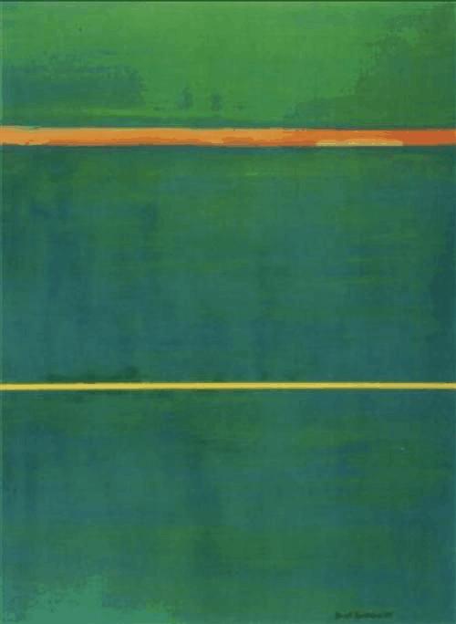 Barnett Newman - Dionysius - colour field