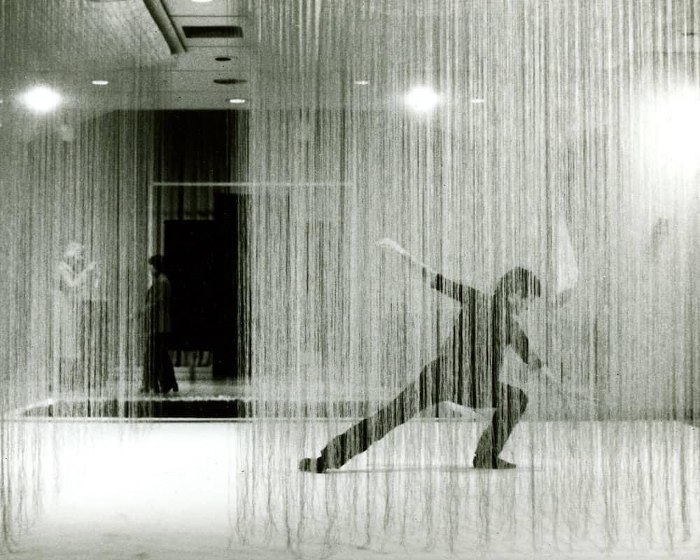 Lenore Tawney, Four Armed Cloud, 1979