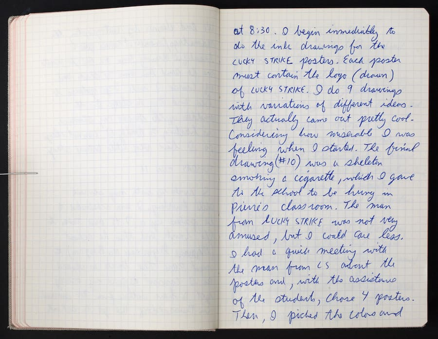 Keith Haring Journal, 1987