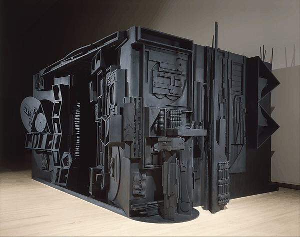 Louise Nevelson's sculpture - Mrs. N's Palace - 1964-1977