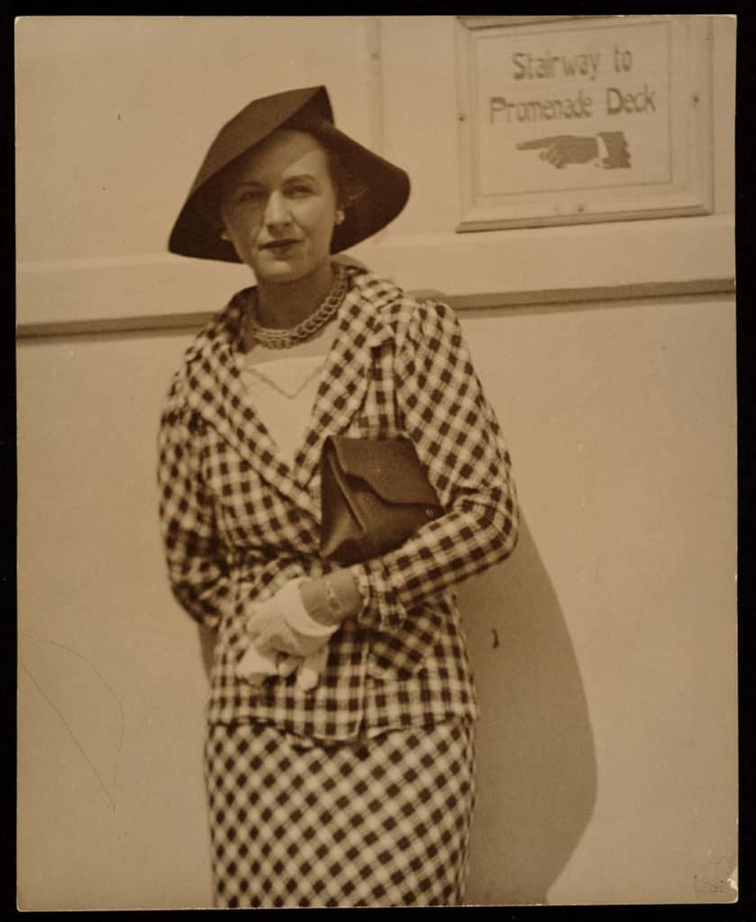 Louise Nevelson in 1932