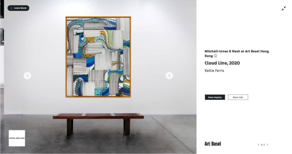 Art Basel Hong Kong Online Viewing Room