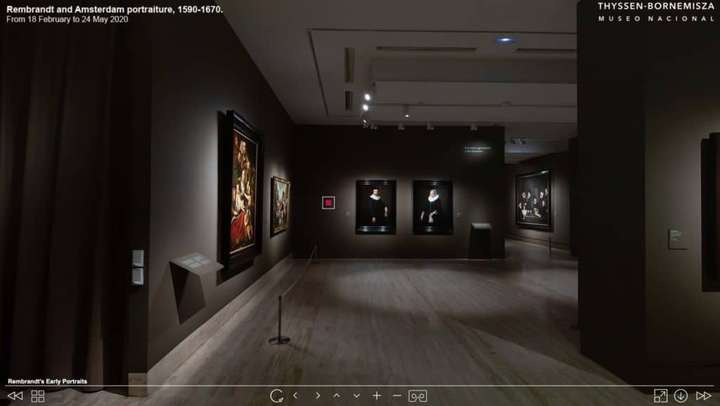 Online Virtual Tour - Rembrandt and Amsterdam Portraiture