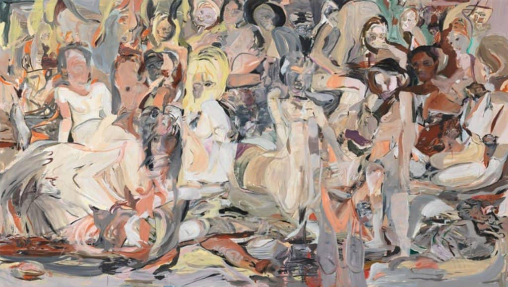 Cecily Brown - Blood thicker than mud - 2012
