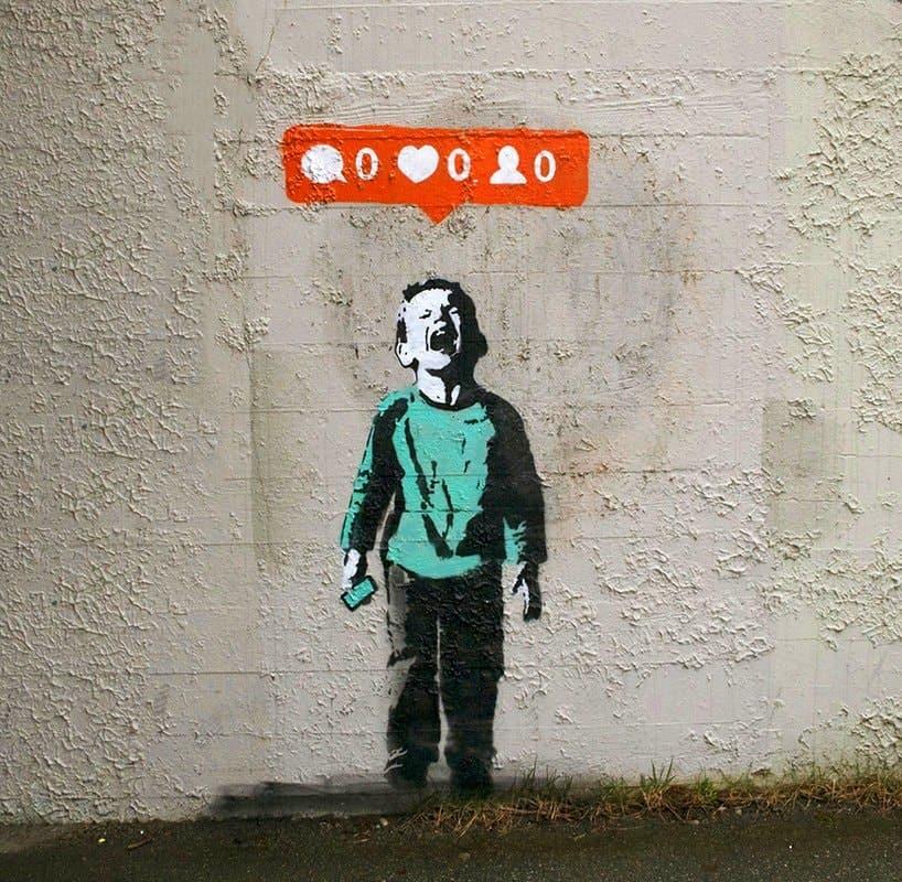 iHeart, Nobody likes me, graffiti