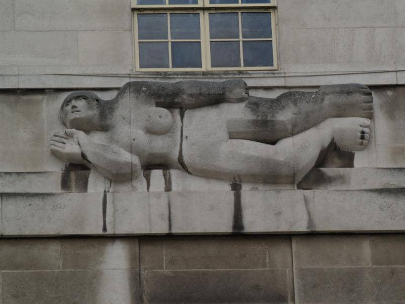 Henry Moore relief