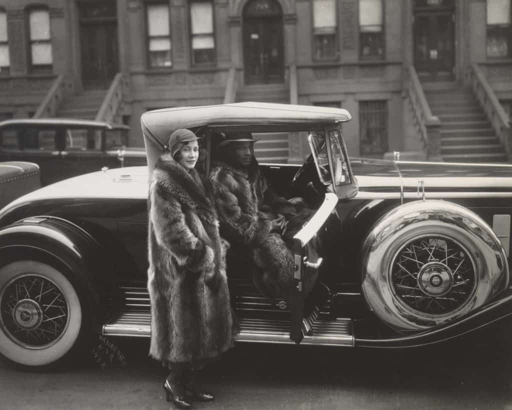 James Van Der Zee - Harlem Couple - 1932