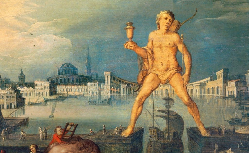 The Colossus of Rhodes (1570) - Louis de Caullery