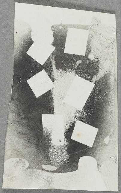 William Henry Fox Talbot - First in a group of twelve experimental test patches - 1863