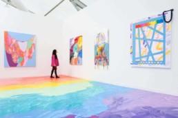Sarah Cain - Galerie Lelong - Frieze New York 2019