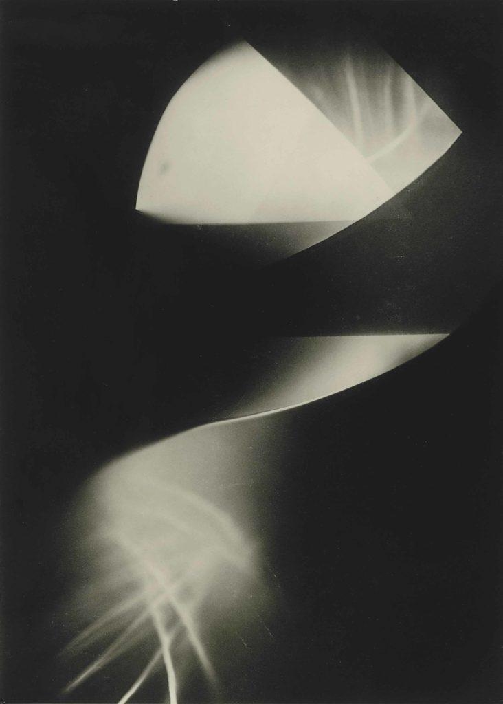 László Moholy-Nagy - Untitled luminogram - 1923-1925