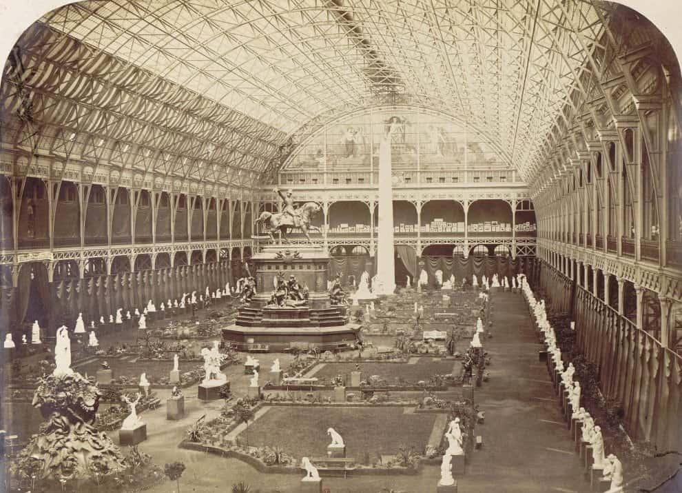 Pierre-Ambroise Richebourg, Salon des Beaux-Arts. Nef du Palais de l'Industrie, 1861