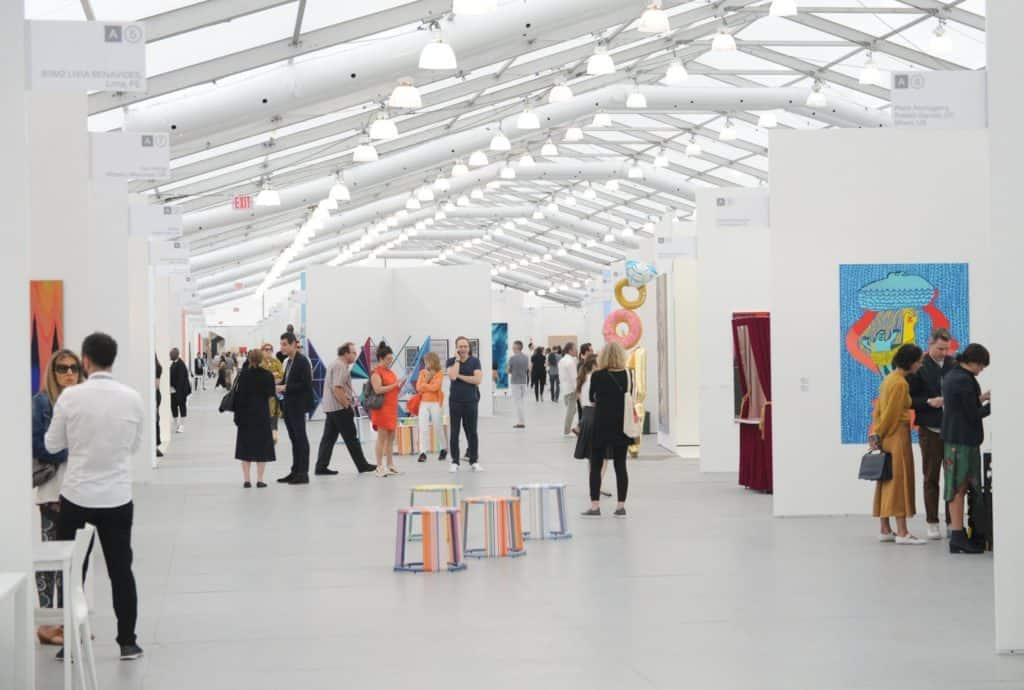 Inside Untitled, Art Miami Beach fair 2018