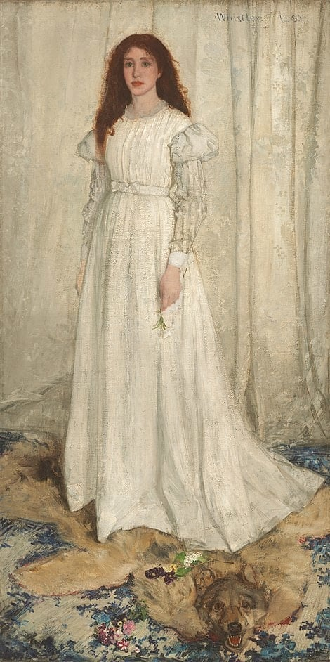 James McNeill Whistler - Symphony in White, No. 1: The White Girl - 1861