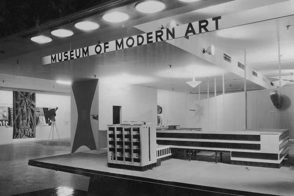 The Museum of Modern Art interior. Inside The White Cube.