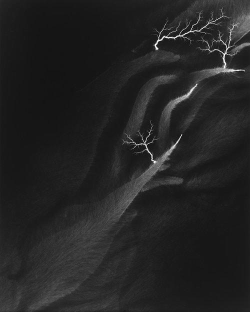Hiroshi Sugimoto - Lightning Fields 142 - 2009