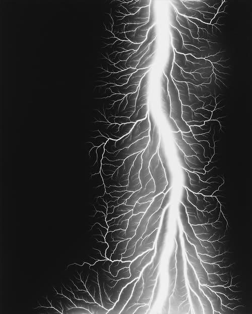 Hiroshi Sugimoto - Lightning Fields 237 - 2014