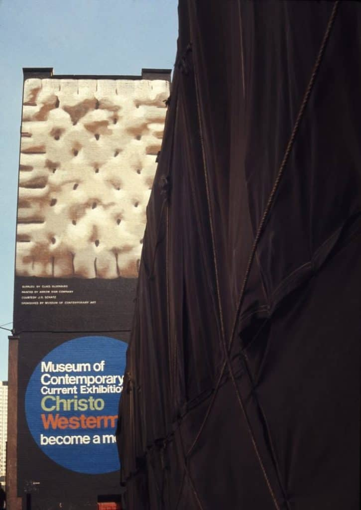 Christo (Christo Javacheff), Museum of Contemporary Art-Chicago Project.