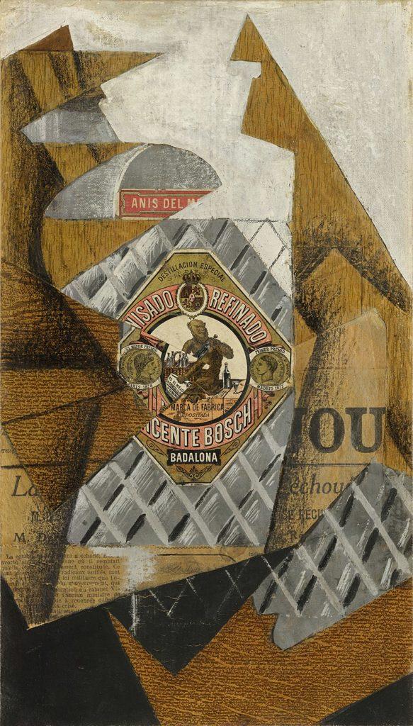 The Anisette Bottle by Juan Gris