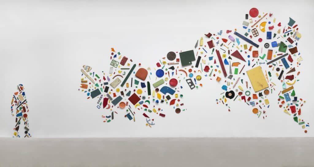 Tony Cragg - Britain Seen from the North -1981. Plastic