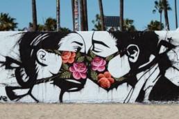 Coronavirus mural by Ponywave on Venice Beach
