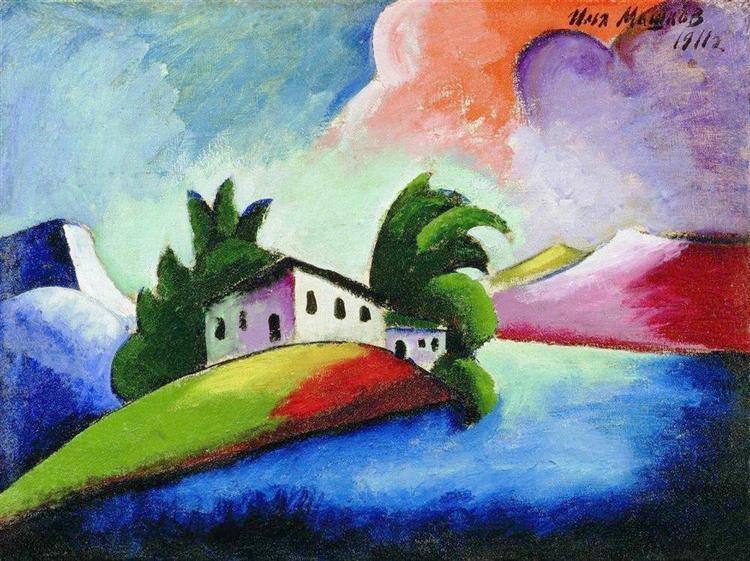 Ilya Mashkov - Landscape - 1991