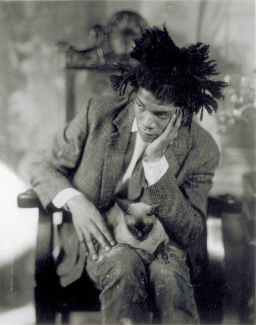 James Van Der Zee - Jean Michel Basquiat Portrait - 1981