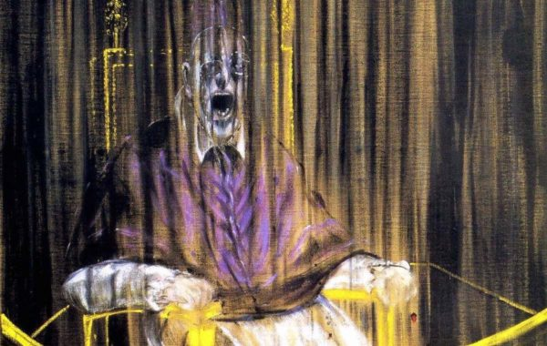 Study After Velazquez's Portrait of Pope Innocent X - Francis Bacon - 1953