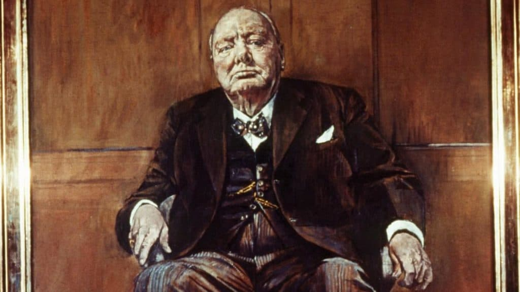 Wiston Churchill's Portrait - Graham Sutherland - 1954