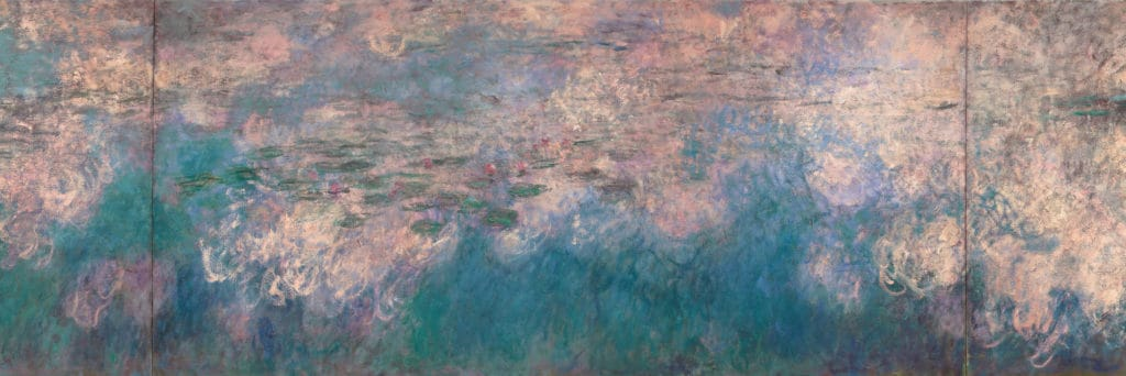 Lost Artwork: Waterlilies Panel - Claude Monet - 1914-1926