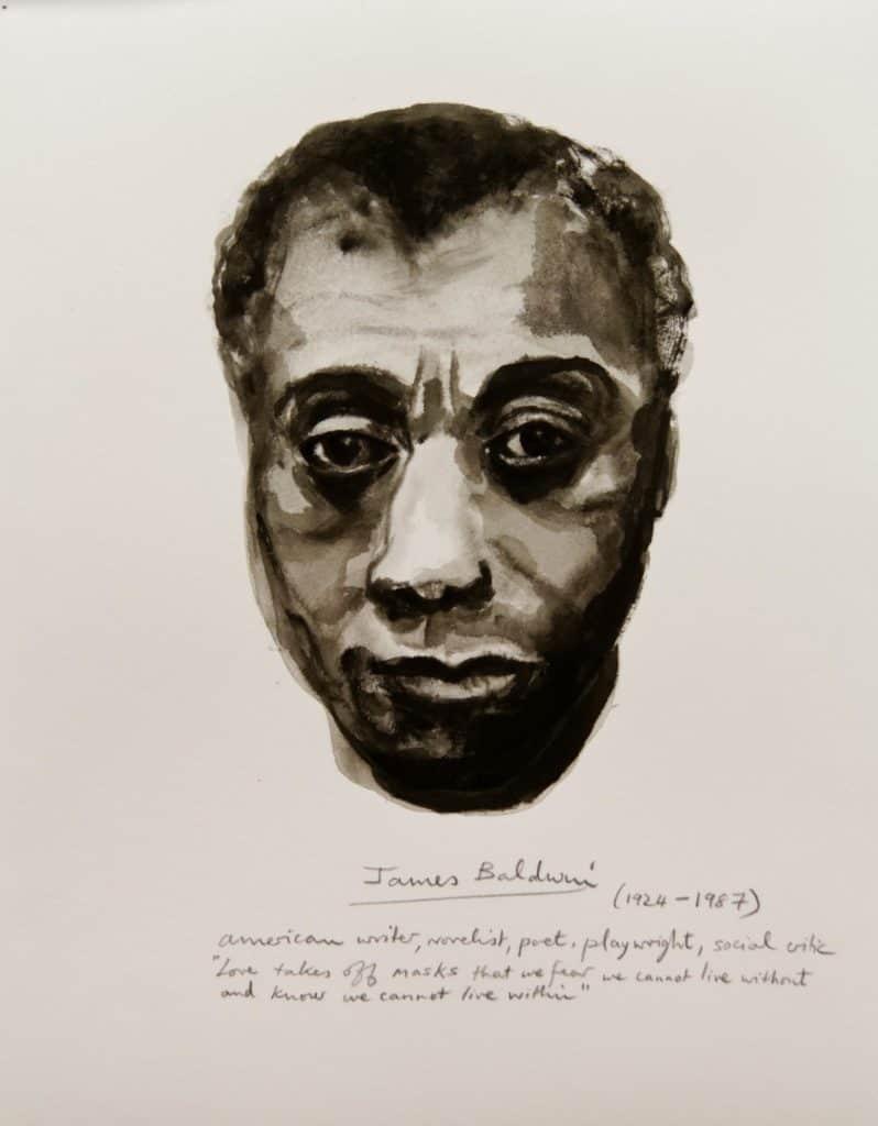Marlene Dumas - James Baldwin - 2014