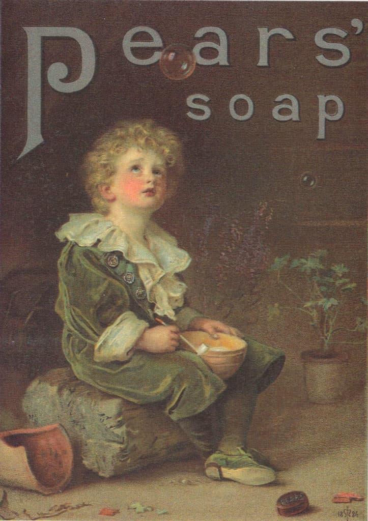 Sir John Everett Millais artwork for advertising