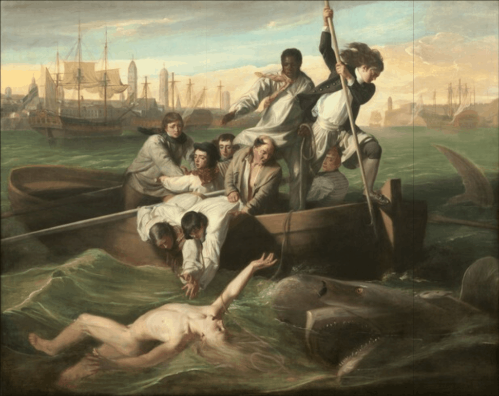 John Singleton Copley - Watson and the Shark - 1778