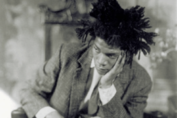 Jean Michel Basquiat Portrait