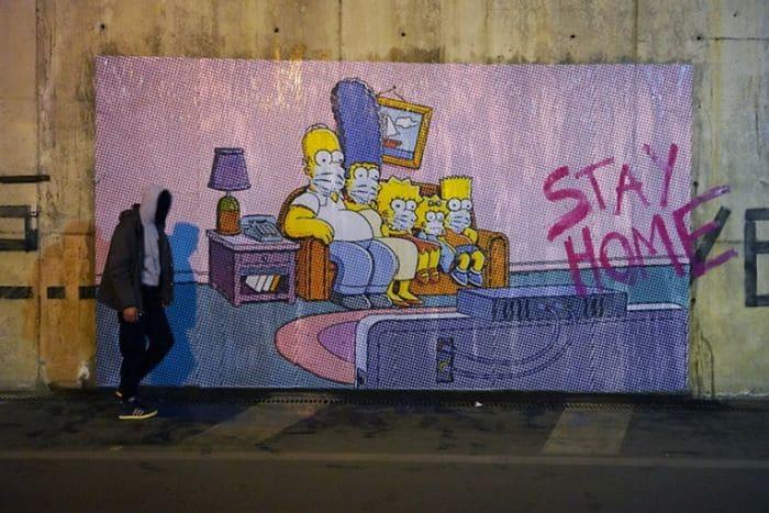 Nello Petrucci - Sweet Home mural -Pompei