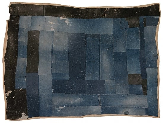 Annie Mae Young - Bars And Blocks Work Clothes Quilt - 1944