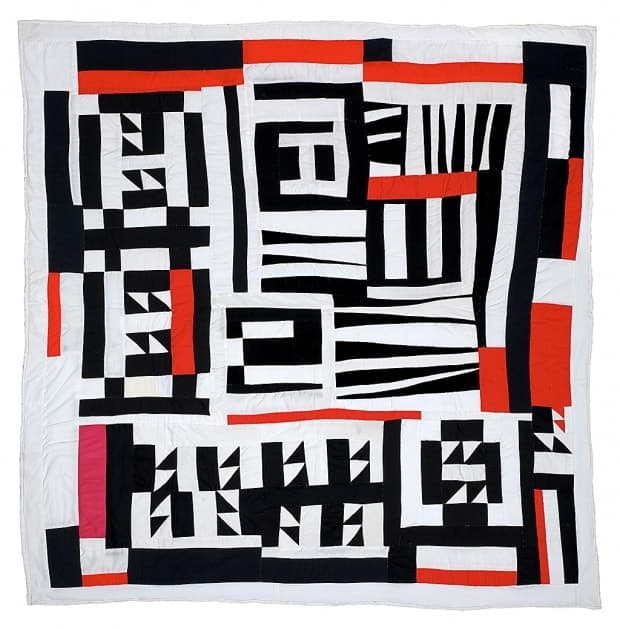 Mary Lee Bendolph - Blocks, Strips, Strings, And Half Squares - 2005