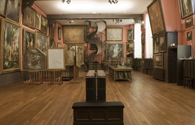 Gustave Moreau's Montmartre studio and home